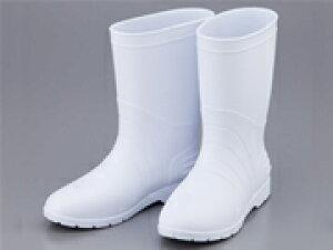 アズワン サニフィット耐油長靴 軽量タイプ 女性用 24.0cm 白 2-3670-02