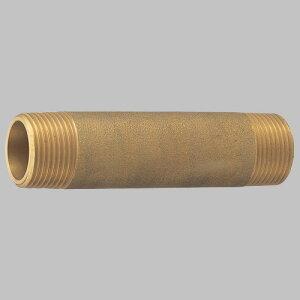 三栄水栓 砲金長ニップル T2050L-13X150