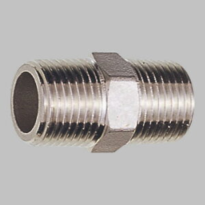 三栄水栓 ステンレス六角ニップル TS700-13
