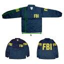 在庫販売 MIL-FORCE ミルフォース ウィンドブレーカー FBI 連邦捜査局
