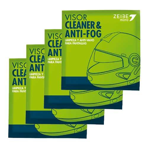 在庫販売 ZEIBE CLEANER&ANTI-FOG セイべ シートタイプ曇り止め ゴーグルやサングラス、ヘルメットバイザーなどに! 4シートセット
