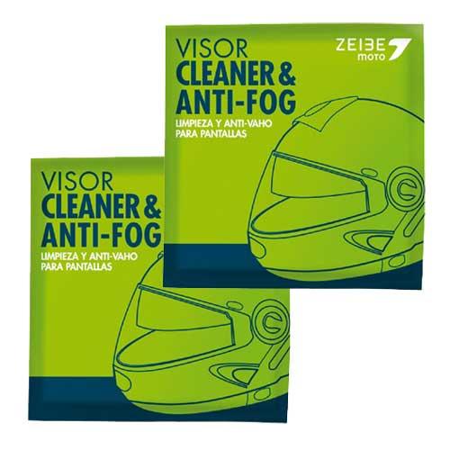 在庫販売 ZEIBE CLEANER&ANTI-FOG セイべ シートタイプ曇り止め ゴーグルやサングラス、ヘルメットバイザーなどに! 2シートセット