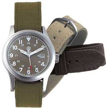 在庫販売 Smith&Wesson スミス&ウェッソン Military ミリタリーODフェイスウォッチ/腕時計 SWW-1464OD 3チェンジャーブルストラップ