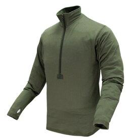 在庫販売 CONDOR コンドル タクティカルギア 603 BASEII ZIPプルオーバーシャツ/ミリタリーシャツ