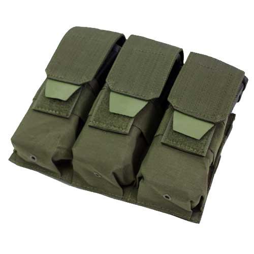 在庫販売 CONDOR コンドル タクティカルギア MA58 トリプル M4/M16 マグポーチ