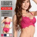 VIRGO'S ヴァルゴーズ ブラジャー ショーツ セット(盛れる 激盛ブラ レディース 女性 ...