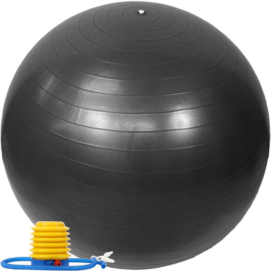 バランスボール 65cm ポンプ付き アンチバースト EGS(イージーエス) バランスボール 65cm EG-3062【ジムボール ヨガボール エクササイズボール】【バランスディスク ヨガマット 腹筋ローラー などの 筋トレ ヨガ フィットネス 用品 と一緒に】