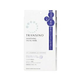 【あす楽】第一三共ヘルスケア トランシーノ 薬用ホワイトマスク 4枚
