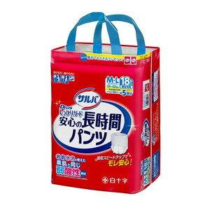 【ケース販売】白十字 サルバ Dパンツ 長時間 M-L  18枚×3個