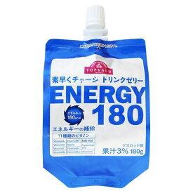 【あす楽】トップバリュ 素早くチャージ ドリンクゼリー ENERGY180 マスカット味 180GX24個セット
