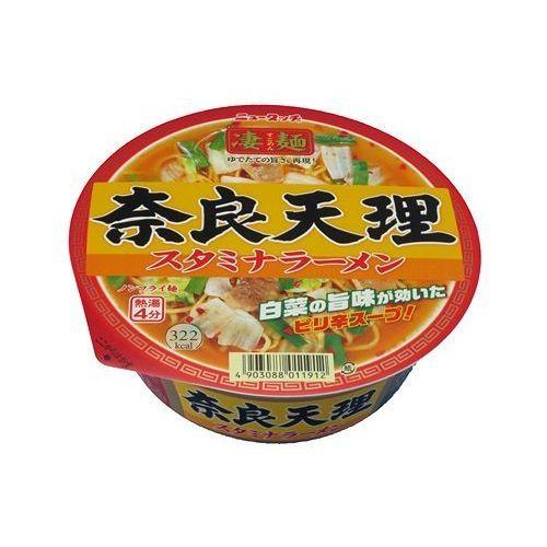 【ケース販売】ニュータッチ 凄麺 奈良天理スタミナラーメン 112GX12個セット