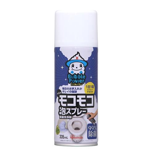 アイリスオーヤマ モコモコ泡スプレー トイレ用 335ML