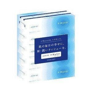 大王製紙 エリエール +Water(プラスウォーター) 360枚(180組)×5個パック