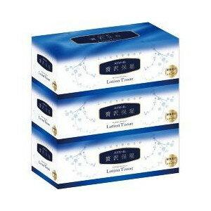 [在庫限り]大王製紙 エリエール 贅沢保湿 ローションティシュー 400枚(200組)×3個パック