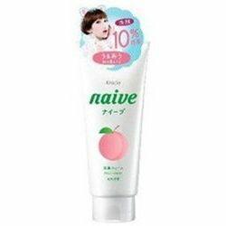 [在庫限り]クラシエ ナイーブ 洗顔フォーム 桃の葉エキス 10%増量 143G