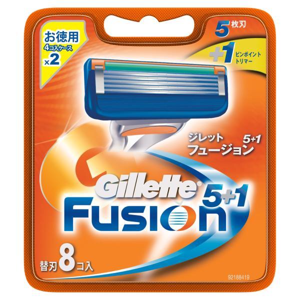 ジレット フュージョン5+1替刃8個入 8個