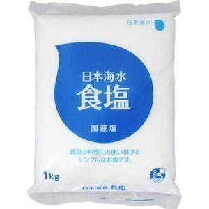 赤穂海水 日本海水食塩 1KGX12個セット