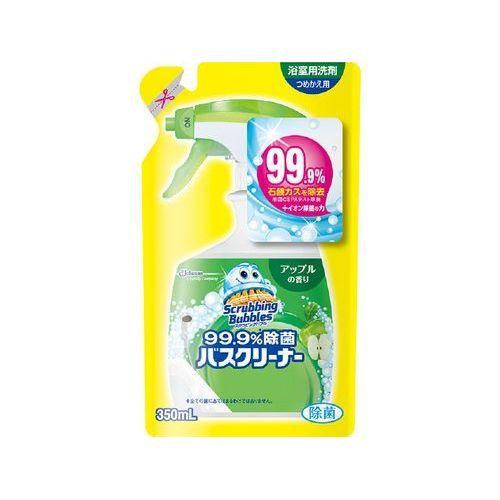 ジョンソン スクラビングバブル 99.9%除菌バスクリーナー アップルの香り 詰替 350ML