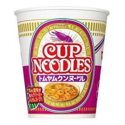 【ケース販売】日清食品 カップヌードル トムヤムクン 75GX12個セット