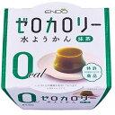【セット販売】遠藤製餡 ゼロカロリー 水ようかん 抹茶 90GX6個セット