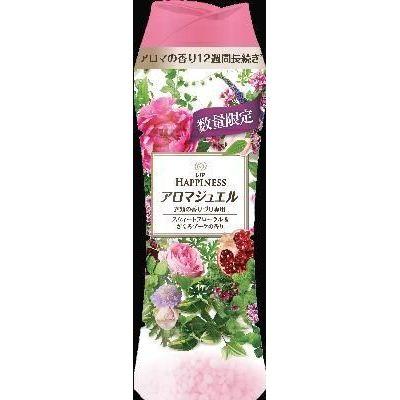 [在庫限り]P&G レノアハピネス アロマジュエル スウィートフローラル&ざくろブーケの香り 本体 520ML