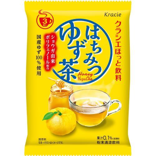 クラシエ はちみつゆず茶 3袋×5個セット