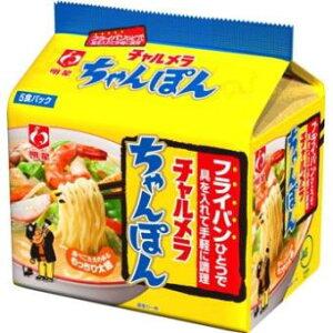 明星食品 チャルメラちゃんぽん 5食×6個セット