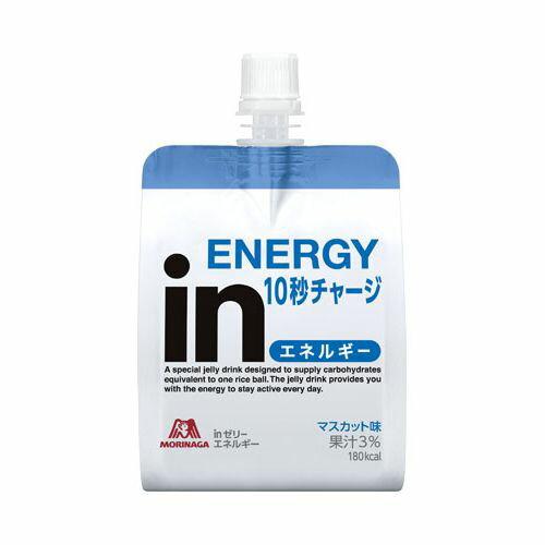 森永製菓 ウィダーinゼリー エネルギーイン 180G