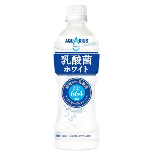 コカコーラ アクエリアス 乳酸菌ホワイト 500ML×24個セット