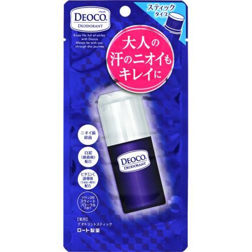 ロート製薬 デオコ 薬用デオドラントスティック スウィートフローラルの香り 13G 制汗剤