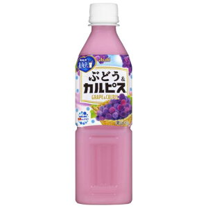 カルピス ぶどう&カルピス 500ML×24個セット