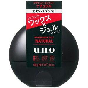 エフティ資生堂 UNO (ウーノ) デザインハードジェリー ナチュラル 100G 男性整髪料