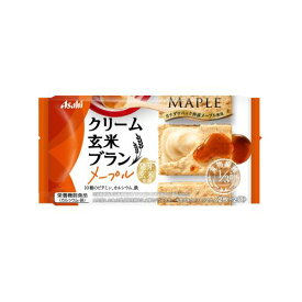 アサヒグループ食品 クリーム玄米ブランメープル 72G