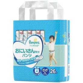 P&Gジャパン パンパース 肌へのいちばん おにいさん気分 パンツタイプ ビッグXLサイズ (12-22KG) 26枚 紙おむつ