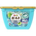 P&G ボールドジェルボール3D 爽やかプレミアムクリーンの香り 本体 18個 衣類用洗剤