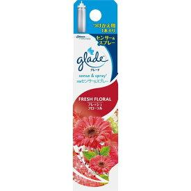 ジョンソン グレード 消臭センサー&スプレー フレッシュフローラルの香り 付け替え 18ML 部屋用芳香・消臭剤