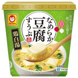 東洋水産 なめらか豆腐すうぷ 鶏白湯 14G×6個セット