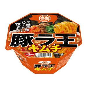 日清食品 日清豚ラ王 キムチ 107G×12個セット