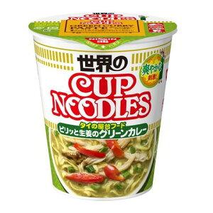 日清食品 カップヌードル ピリッと生姜のグリーンカレー 80G×12個セット