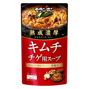 モランボン 熟成濃厚キムチチゲ用スープ 750G×10個セット