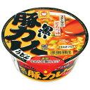 (ケース販売)東洋水産 マルちゃん 黒い豚カレーうどん 87GX12個セット