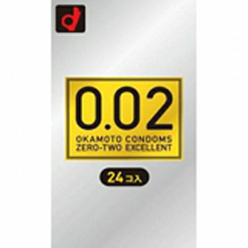オカモト 薄さ均一 0.02EX 24個
