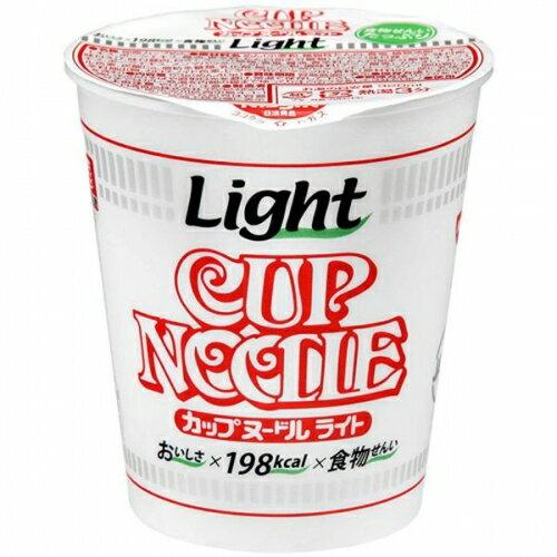 (ケース販売)日清食品 カップヌードル ライト 53GX12個セット