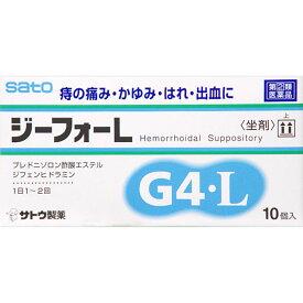 【指定第2類医薬品】ジーフォーL 10個