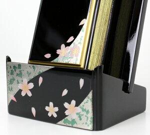 蒔絵過去帳セット3.5(散桜)【過去帳・位牌】【#2】【HLS_DU】【RCP】