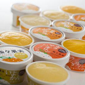 極々果実シャーベットセット12個入/愛媛県産柑橘果汁をたっぷり使用! 【smtb-KD】