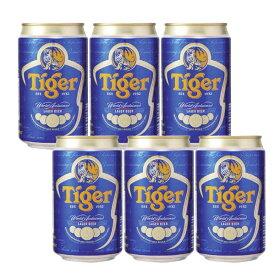 タイガービール 330ml缶6本 Tiger Gold Medal