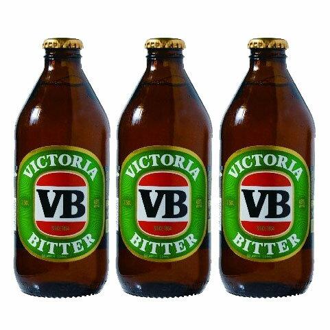 ヴィクトリア・ビター(瓶) 375ml 3本 Victoria Bitter オーストラリア