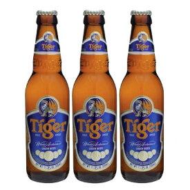 タイガービール 330ml瓶入3本 Tiger Gold Medal