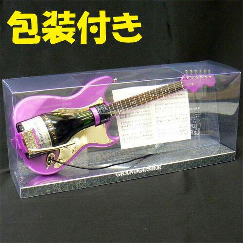包装付き グランゴジエ ミニセット エレキギター型(ブランデー) ミニチュアボトル